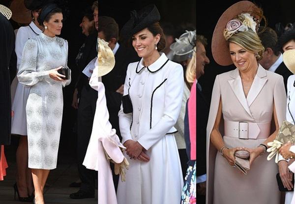 Cuộc đọ sắc có 1-0-2: Ba biểu tượng sắc đẹp của hoàng gia thế giới xuất hiện cùng nhau, Công nương Kate kém sắc nhất, chịu lép vế trước U50-2