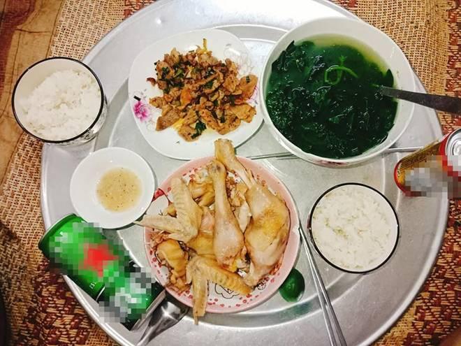 9x Nam Định đã vào bếp là ham nấu nhiều món, khiến chồng phải xót, cứ nói thế này...-11