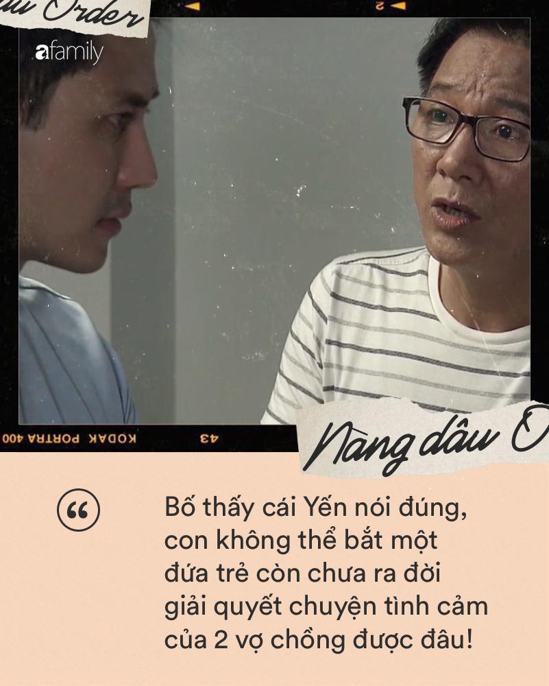 Nàng dâu order: Những câu nói khiến chị em muốn vỗ tay vì quá hay của bố chồng Lan Phương trong tập phim tối qua-2