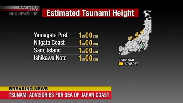 Động đất mạnh 6,8 độ ở Nhật Bản, cảnh báo nguy cơ sóng thần-2