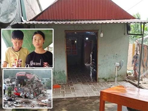 Gia cảnh thương tâm của tài xế thiệt mạng vụ tai nạn thảm khốc ở Hòa Bình
