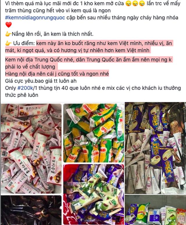 Thu giữ 8.000 que kem Trung Quốc, lộ đường dây nhập kem siêu rẻ-3
