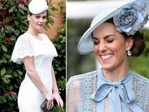 """Công nương Kate gây choáng với phong cách sến súa quá đà, bị lu mờ trước nhan sắc hoàn hảo của """"đối thủ"""" hoàng gia đáng gờm"""
