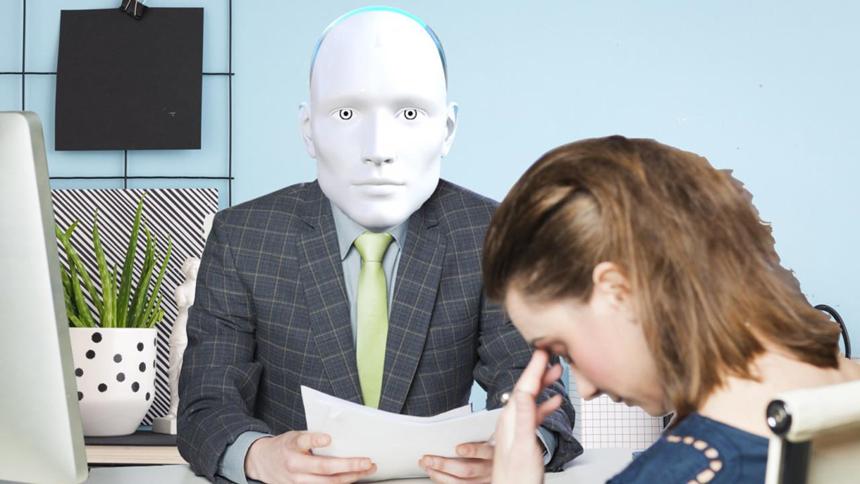 Robot đọc đơn xin việc và nói tôi nên thất nghiệp thì hơn-1