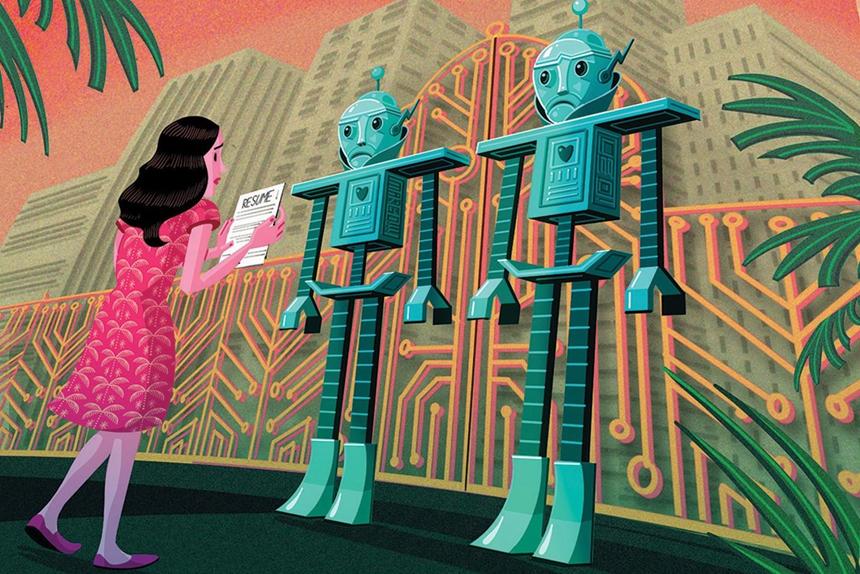Robot đọc đơn xin việc và nói tôi nên thất nghiệp thì hơn-2