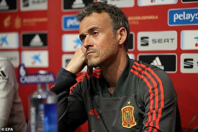 Luis Enrique từ chức HLV trưởng tuyển Tây Ban Nha-1