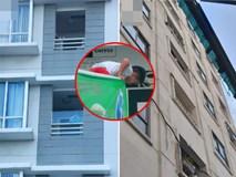 Hiểm họa chết người rình rập trẻ em sau những ban công chung cư ở Sài Gòn