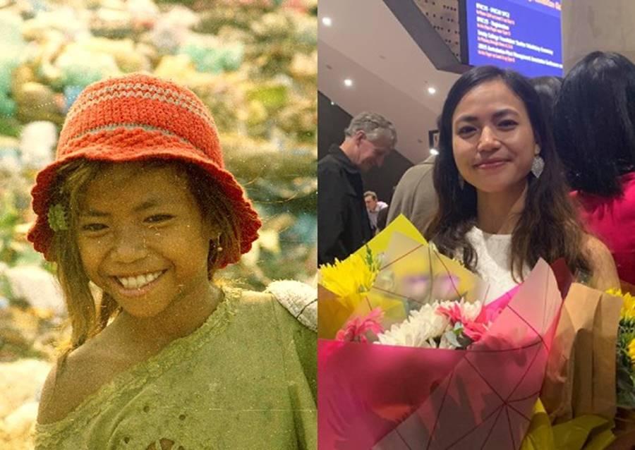 Câu chuyện truyền cảm hứng của cô gái từ lọ lem bãi rác hoá thành thủ khoa xinh đẹp, nhận học bổng toàn phần tại Úc-1