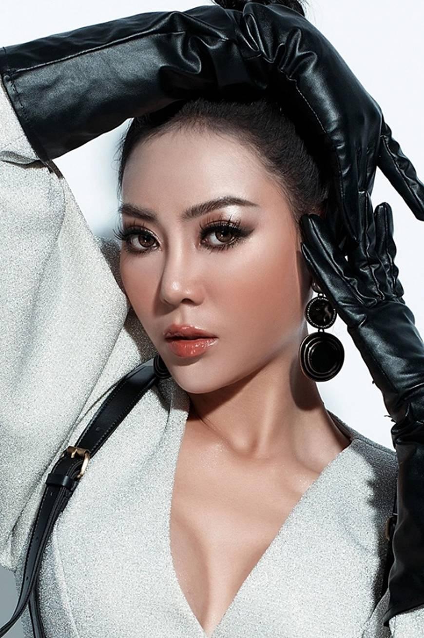 Thanh Hương lạ mắt khi chuyển đổi phong cách sang cô nàng cá tính, nổi loạn-3