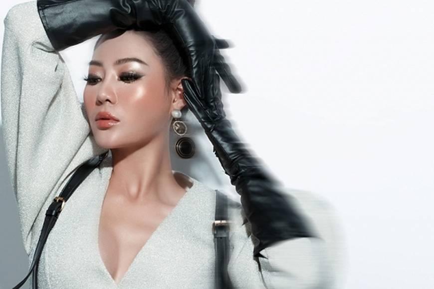 Thanh Hương lạ mắt khi chuyển đổi phong cách sang cô nàng cá tính, nổi loạn-8