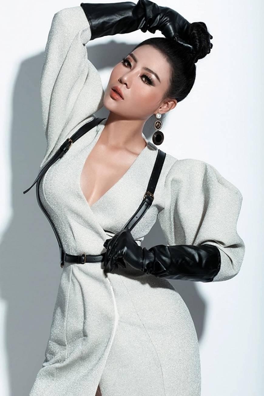 Thanh Hương lạ mắt khi chuyển đổi phong cách sang cô nàng cá tính, nổi loạn-12