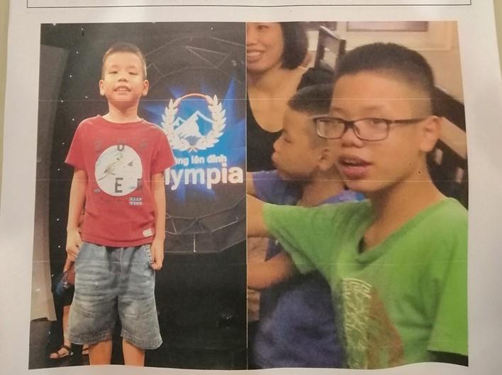 Hai anh em ruột 14 và 8 tuổi bất ngờ mất tích-1