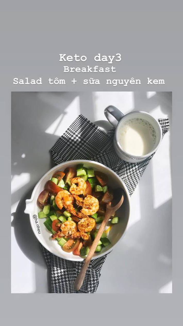 Chế độ ăn 7 ngày của cô nàng kiến trúc sư Nhêu Hà: Chẳng cần tập tành gì cũng thừa sức giảm 2 - 3kg-5