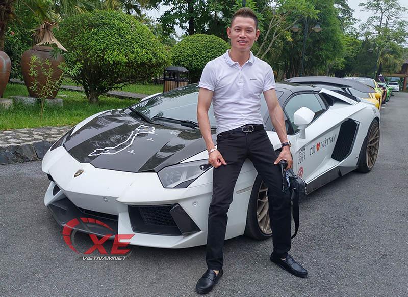 Đẳng cấp chơi siêu xe Lamborghini đáng nể của đại gia Tùng vàng-1