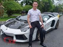 Đẳng cấp chơi siêu xe Lamborghini đáng nể của đại gia Tùng