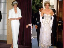 Vì Công nương Diana đã ưu ái diện, những bộ cánh này được bán lại với giá tương đương cả một gia tài