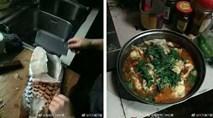 Lần đầu về ra mắt nhà bạn gái, chàng trai trổ tài nấu nướng nhưng ai cũng hỏi