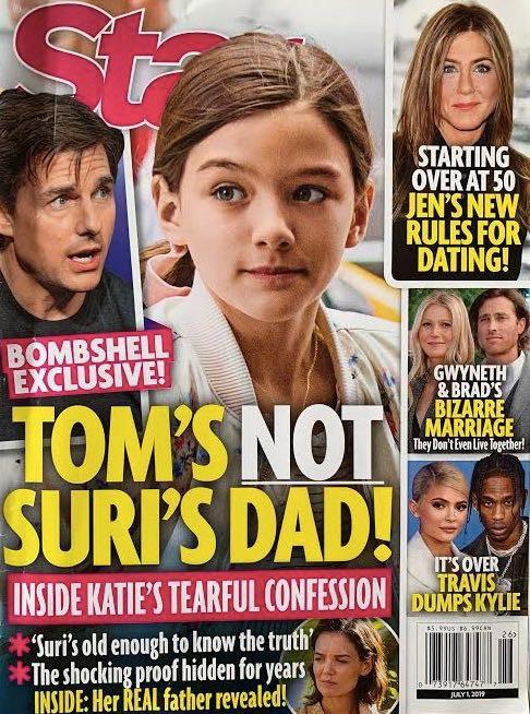 HOT: Katie thú nhận Suri không phải là con ruột của Tom Cruise?-1