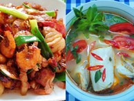 Bữa cơm siêu ngon mát cho ngày nắng nóng, ăn đến đâu 'tỉnh người' đến đó