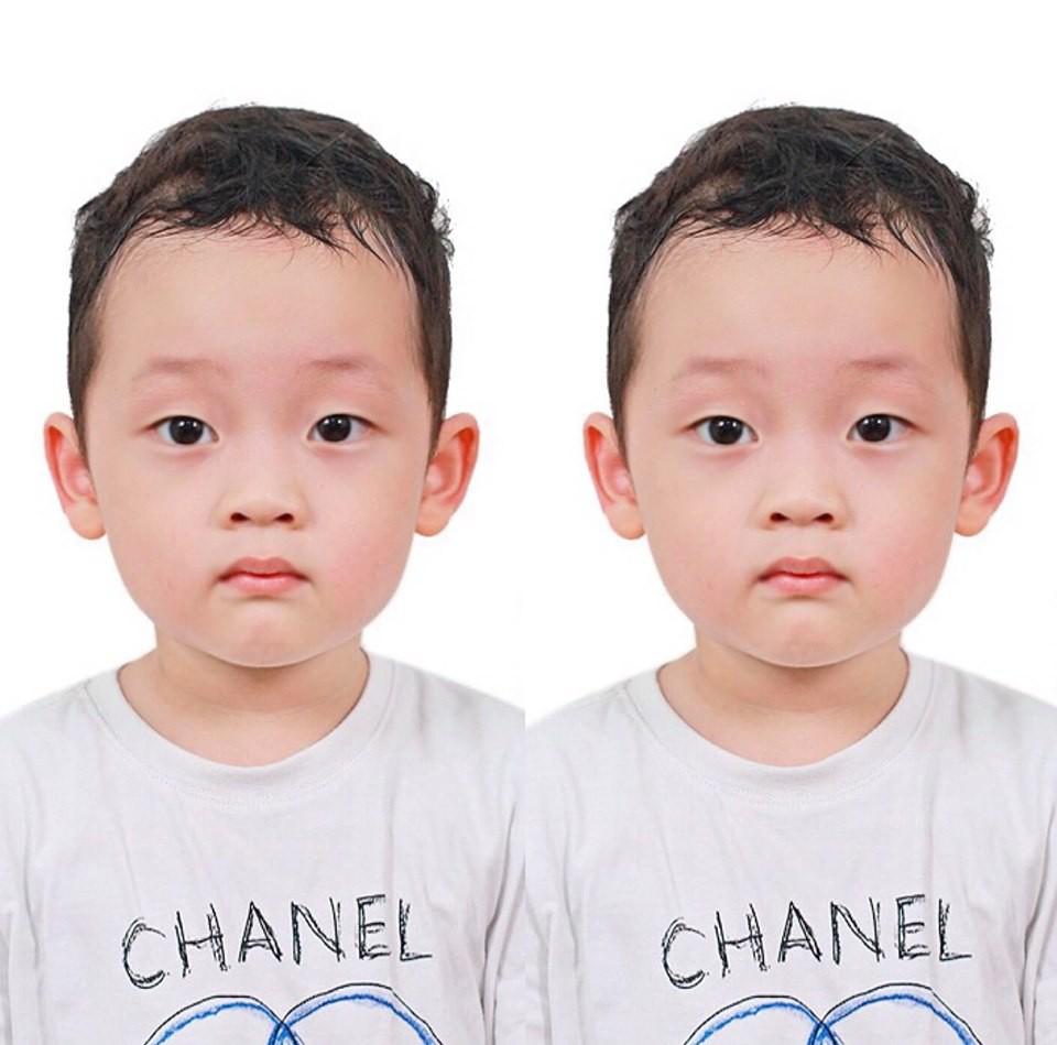 Ly Kute khoe ảnh thẻ cực đáng yêu của con trai, ai cũng công nhận quá giống một người nhưng không tiện nói tên-1