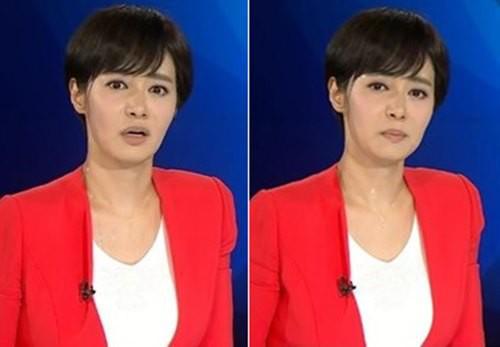 Khán giả giật mình khi nữ MC Hàn Quốc đột nhiên mặt trắng bệch, mồ hôi chảy đầm đìa khi đang dẫn chương trình trực tiếp-2