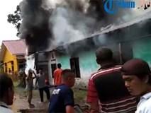 Nóng: Cháy xưởng sản xuất diêm ở Indonesia khiến ít nhất 30 người thiệt mạng, trong đó có 3 trẻ em, hiện trường hỏa hoạn gây ám ảnh