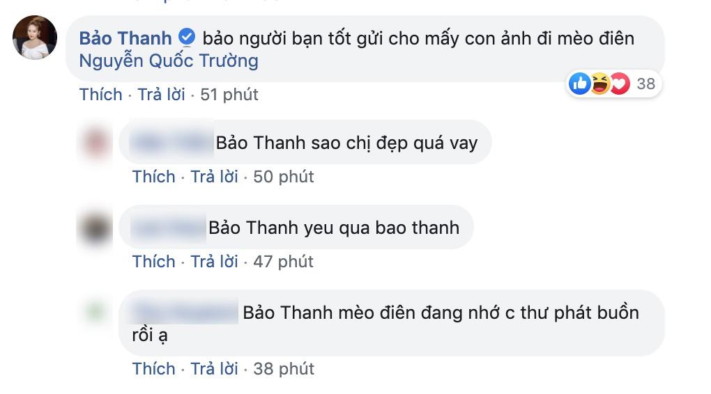 Quốc Trường thả thính fan nữ trên Facebook ngọt lịm nhưng lại phũ thế này khi Bảo Thanh xuất hiện-6