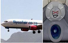 Phát hiện toilet máy bay bị tắc, nhân viên vệ sinh rùng mình lôi lên một thai nhi bị vứt bỏ, cả chuyến bay bị hủy để điều tra-1
