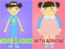 9 tác hại nguy hiểm khó lường khi trẻ nghiện điện thoại thông minh
