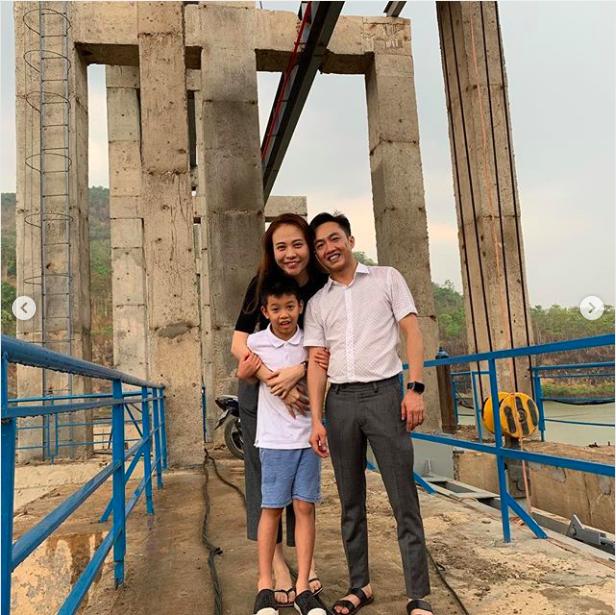 Hành động khó hiểu của Đàm Thu Trang sau khi đăng ảnh chúc mừng sinh nhật Subeo-2