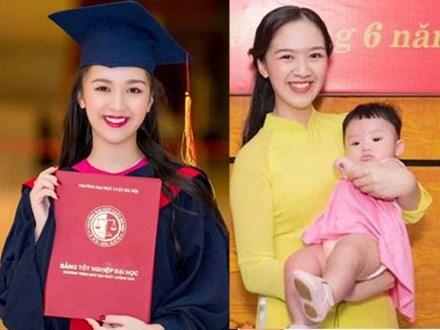 Hoa khôi Hà thành kể chuyện vừa sinh con vừa tốt nghiệp cử nhân Luật loại Giỏi: Nếu các nữ sinh mang thai ngoài ý muốn, hãy thẳng thắn đối diện