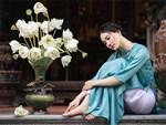 Níu giữ hương mùa hạ với những bình hoa sen đẹp dịu dàng trong tổ ấm của 3 người phụ nữ đảm ở Hà Nội-32
