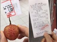 Nam thanh niên 'lầy lội' vào siêu thị chỉ mua 1 quả vải, thanh toán 1.030 đồng làm dân mạng cười ra nước mắt
