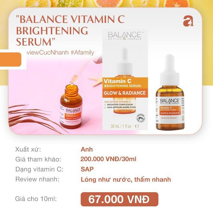 """8 loại serum vitamin C ngừa da nám và chống lão hóa giá dưới 350k mà chị em nào cũng cần trong công cuộc chống già""""-1"""