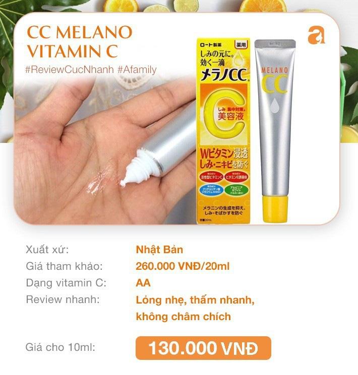 """8 loại serum vitamin C ngừa da nám và chống lão hóa giá dưới 350k mà chị em nào cũng cần trong công cuộc chống già""""-2"""