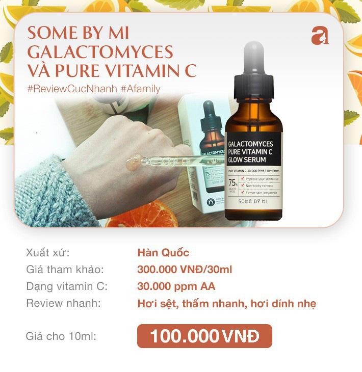 """8 loại serum vitamin C ngừa da nám và chống lão hóa giá dưới 350k mà chị em nào cũng cần trong công cuộc chống già""""-4"""