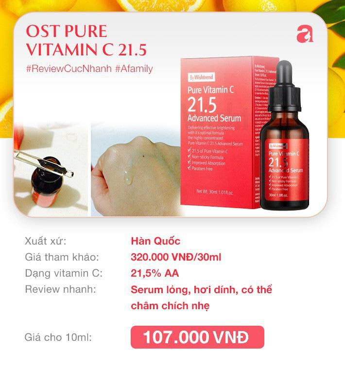 """8 loại serum vitamin C ngừa da nám và chống lão hóa giá dưới 350k mà chị em nào cũng cần trong công cuộc chống già""""-5"""