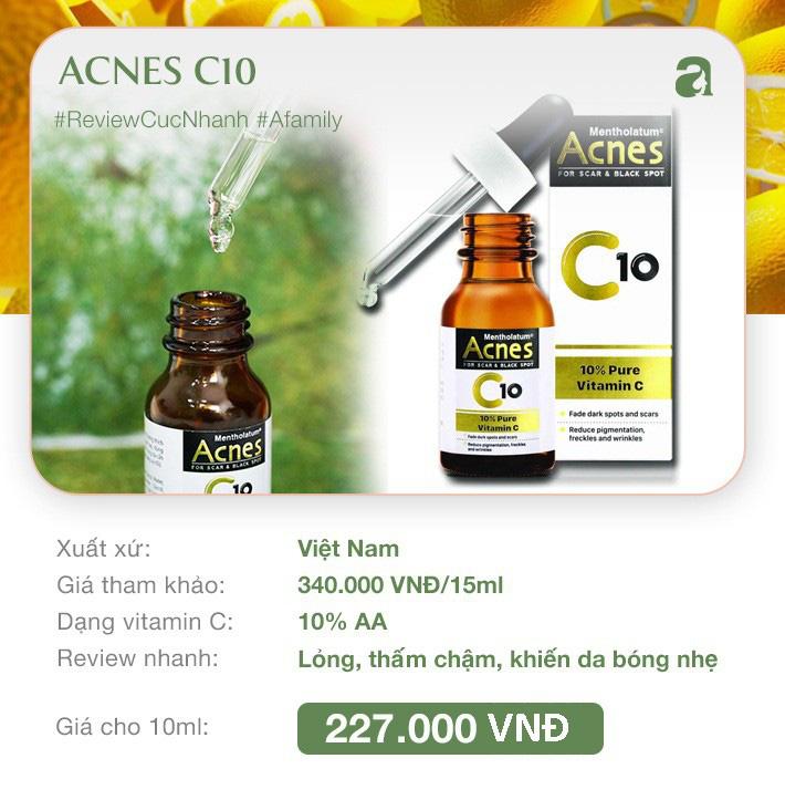 """8 loại serum vitamin C ngừa da nám và chống lão hóa giá dưới 350k mà chị em nào cũng cần trong công cuộc chống già""""-6"""