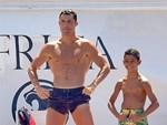 """C.Ronaldo gây bão"""" khi dẫn bạn gái xinh đẹp đi hẹn hò cùng Michael Jordan-5"""