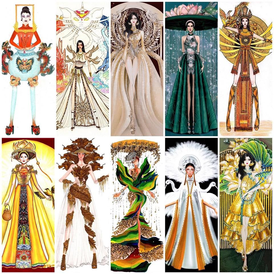 Lộ diện 10 bộ Quốc phục được bình chọn nhiều nhất, sốc nhất là màn tranh cãi của netizen-1
