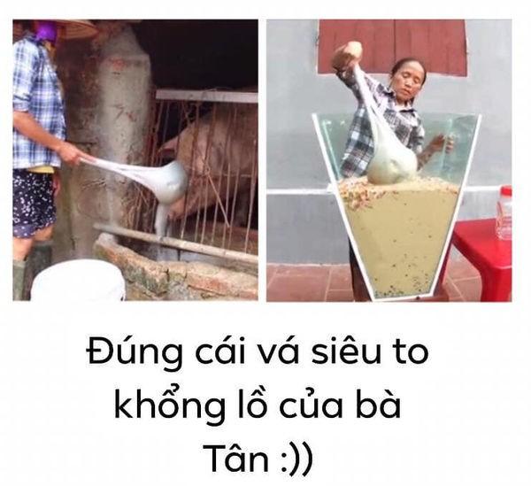 Xôn xao hình ảnh Bà Tân Vlog dùng 1 chiếc muôi vừa cho lợn ăn, vừa nấu những món siêu to khổng lồ-1