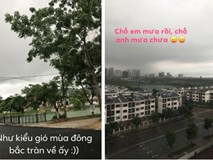 Hà Nội như chuyển mình vào thu sau mưa dông, dân mạng đua nhau đăng status ăn mừng