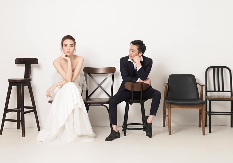 Không hổ danh Hoa khôi, Đàm Thu Trang tung ảnh cưới đơn giản nhưng vẫn xinh đẹp yêu kiều hết phần thiên hạ-4