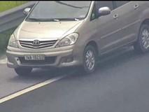 Nữ tài xế lùi xe trên cao tốc Hà Nội - Hải Phòng bị tước bằng lái xe 2 tháng, xử phạt 1 triệu đồng