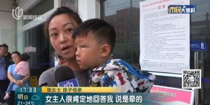 Khoảnh khắc gây sốc: Dắt cháu trai 3 tuổi đi thang máy, bà hoảng hồn phản ứng nhanh cứu mạng cháu bị chó dữ khổng lồ nhảy lên cắn xé-6
