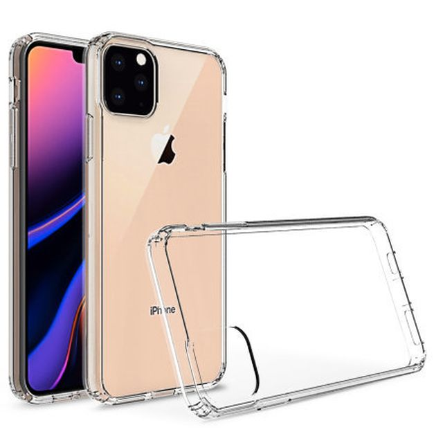 Thiết kế mới của iPhone XI lộ diện hoàn toàn qua ảnh phụ kiện vỏ bảo vệ-1