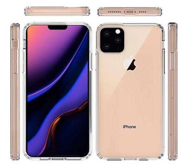 Thiết kế mới của iPhone XI lộ diện hoàn toàn qua ảnh phụ kiện vỏ bảo vệ-2