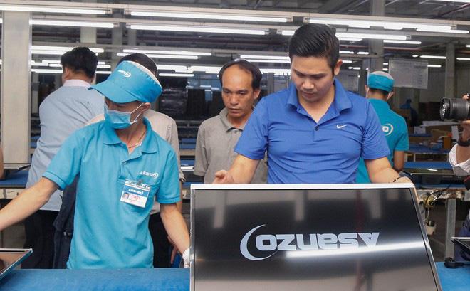 CEO Phạm Văn Tam: Linh kiện nhập khẩu gần 100%, Asanzo không phải hàng VN-1