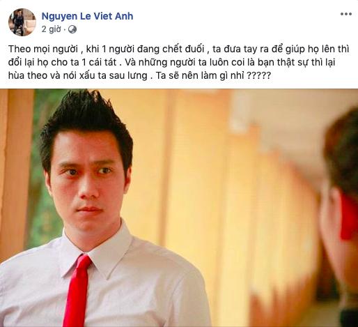 Việt Anh bức xúc vì bị nói xấu giữa lùm xùm ly hôn nhưng đáng chú ý là bình luận đầy tính bạo lực của Khải (Về nhà đi con)-1