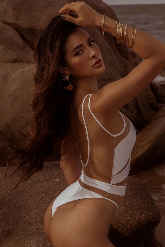 Phương Trinh Jolie tập Yoga trên mỏm đá, khiến ai cũng trầm trồ vì quá sexy-3